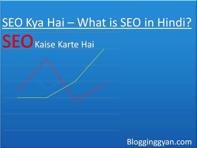 SEO Kya Hai – What is SEO in Hindi?