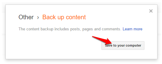 content backup kare