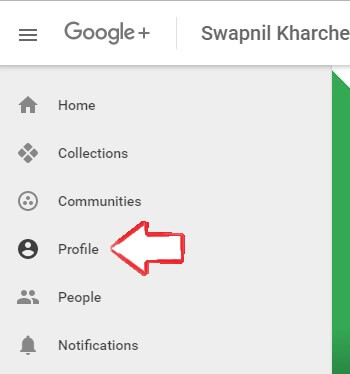 open-google-plus-profile
