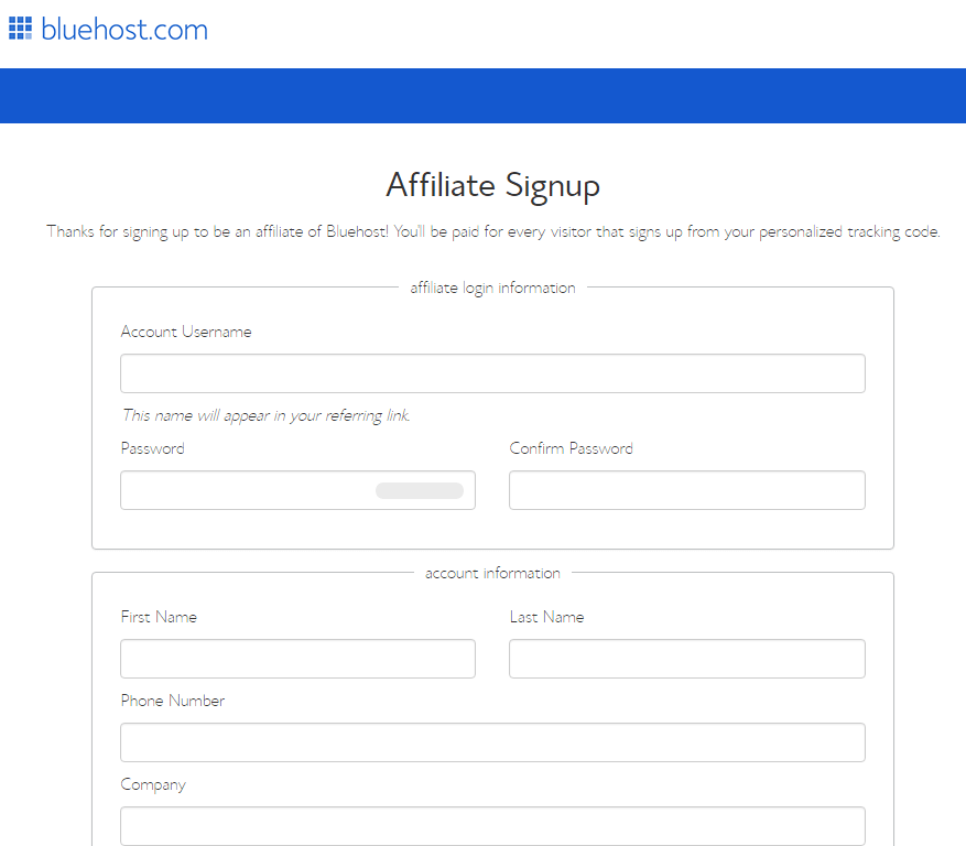 create-bluehost-affiliate-account-1