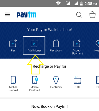 Paytm Add Money