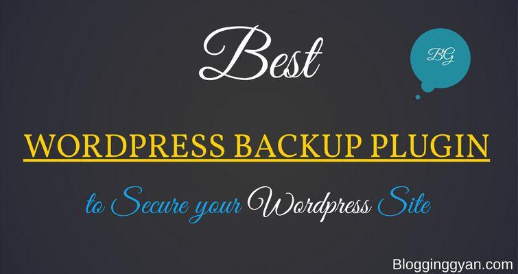 Top 5 Best WordPress Backup Plugin for 2017 (Free & Premium)
