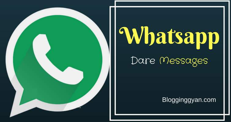 {Latest} Top 5 Best Whatsapp Dare Messages With Answers 2017 Hindi Me