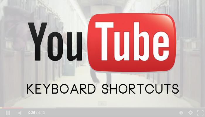 Useful YouTube Keyboard Shortcuts Jo YouTubers Ko Janane Chahiye