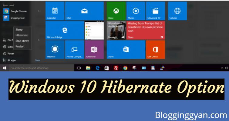 Windows 10 Hibernate Option Enable Karke Hibernate Problem Solve Kaise Kare