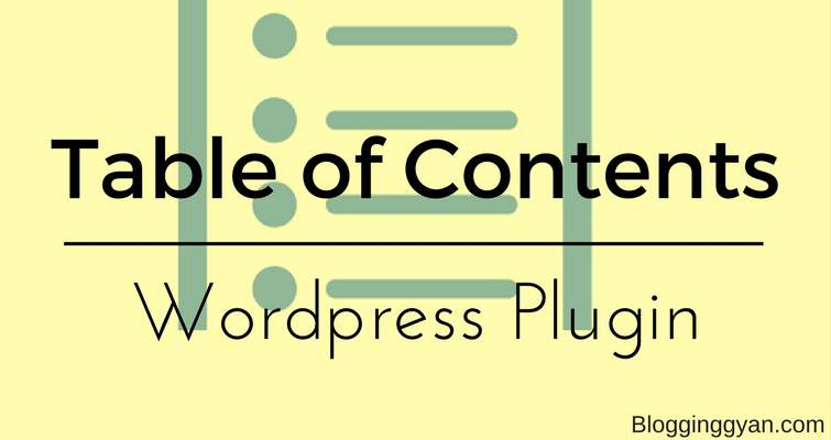 WordPress Blog Me Floating Table of Contents Kaise Add Kare