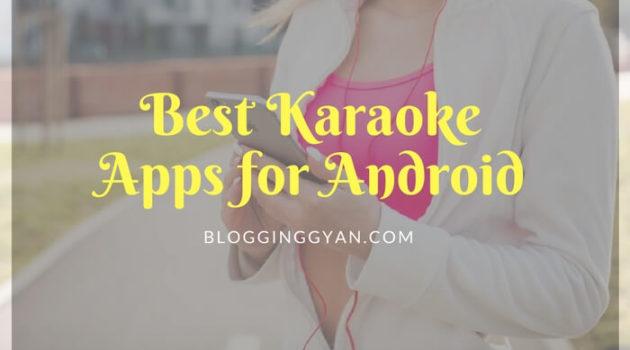 Favorite Hindi Songs Gane Ke Liye 7 Best Karaoke Apps for Android 2018