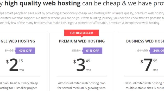 Hostinger Review- Affordable Web Hosting For WordPress User