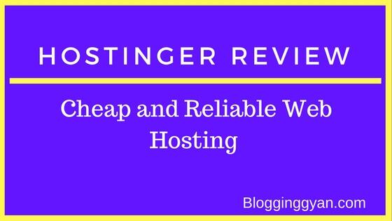 {Latest} A Complete Review On Hostinger Web Hosting (Nov 2017)