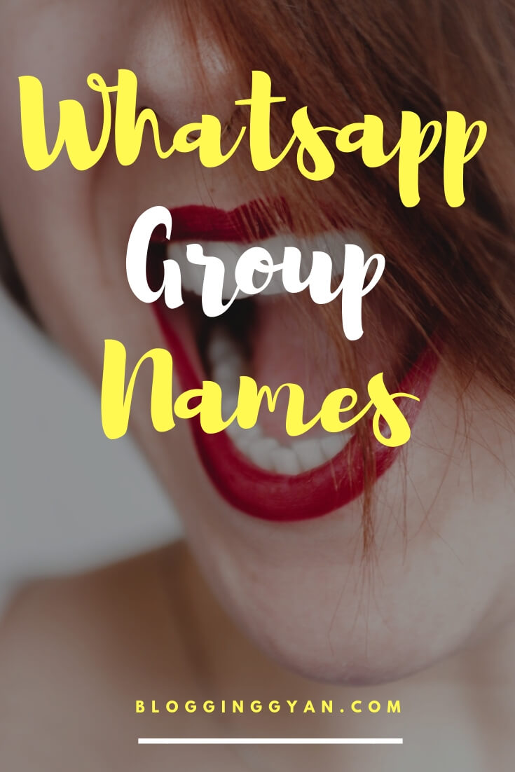 Updated 2019} Whatsapp Group Names List for Friends, Cool
